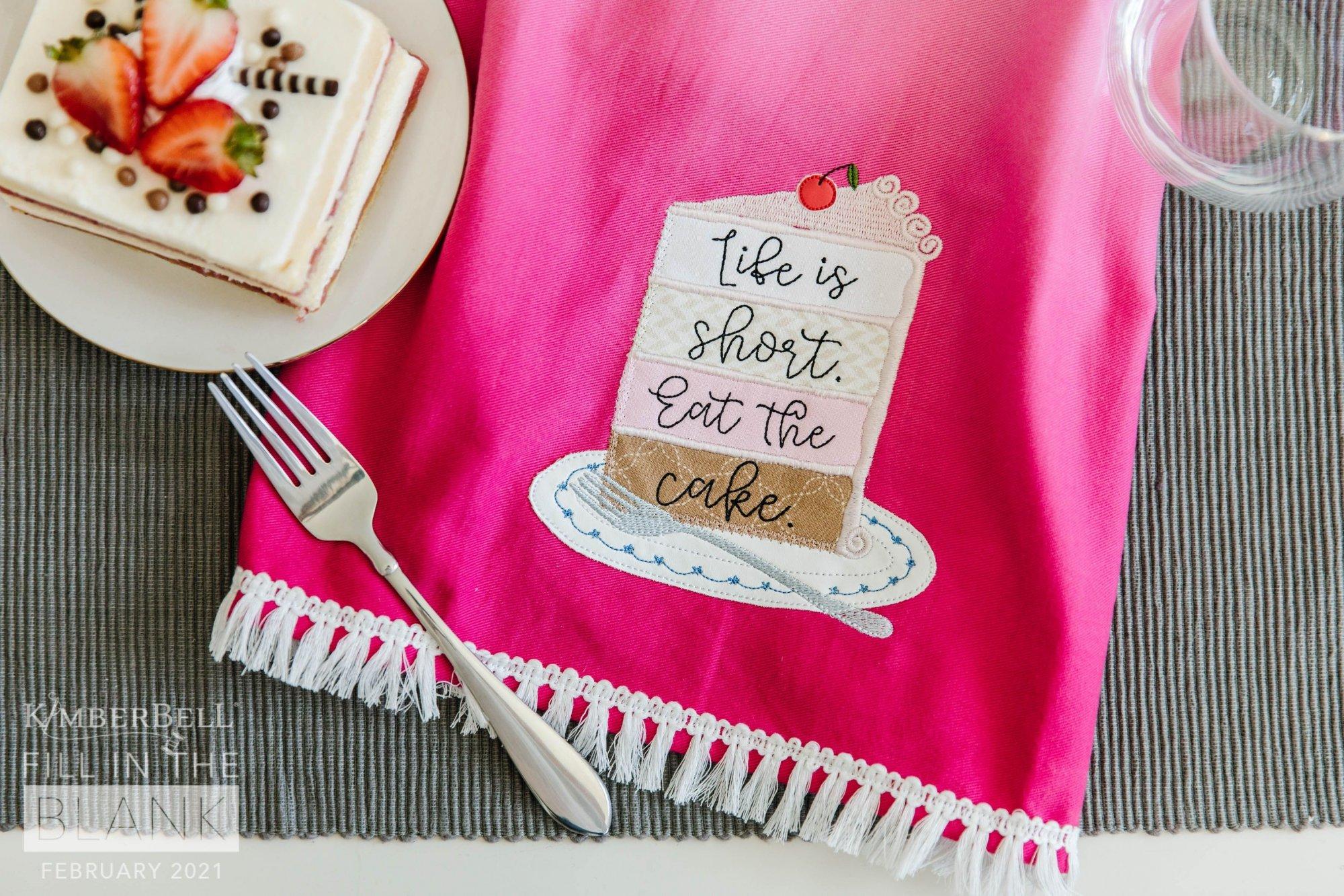 February FITB Tea Towel Kit