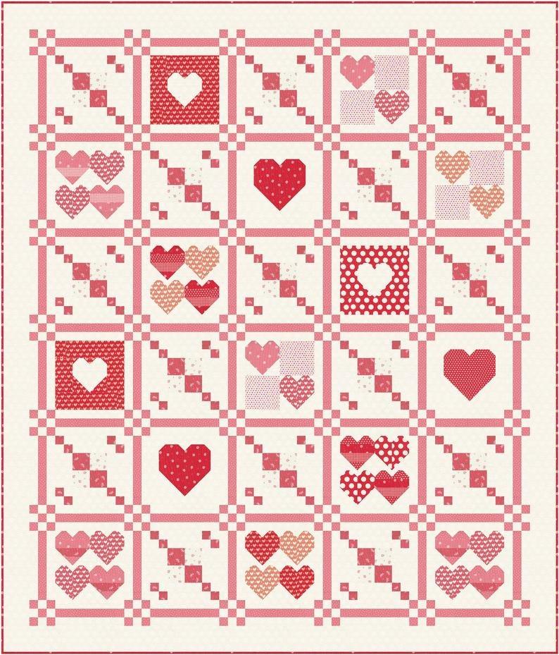 Together Quilt Kit (Stitch Pink 2021) Pre-Order