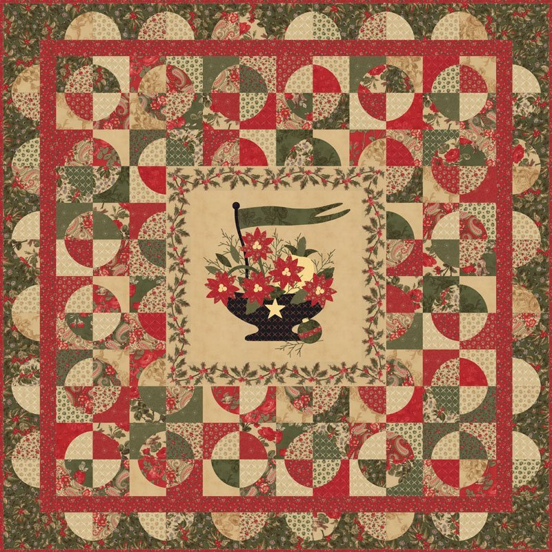 Wintergreen Quilt Kit By 3 Sisters For Moda