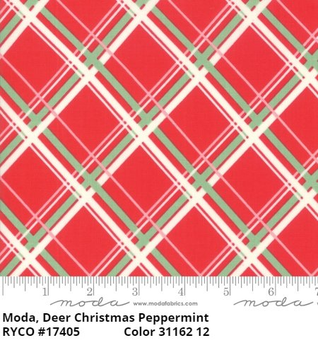 Deer Christmas by Urban Chiks for Moda