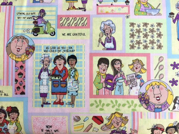 Church Kitchen Ladies by Fabri-Quilt Inc (112-31451)