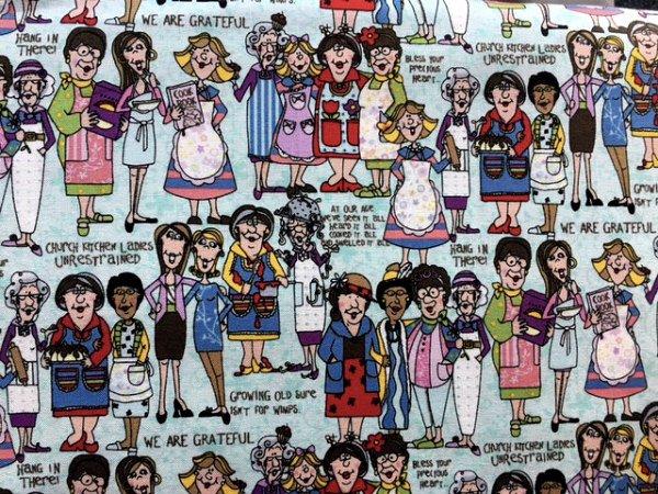 Church Kitchen Ladies by Fabri-Quilt Inc (113-31482)