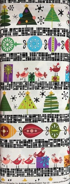 Holiday Tweets by Andover Fabrics (125-X)