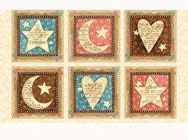 Expressions of Faith by Quilting Treasures (1649-23605-E)