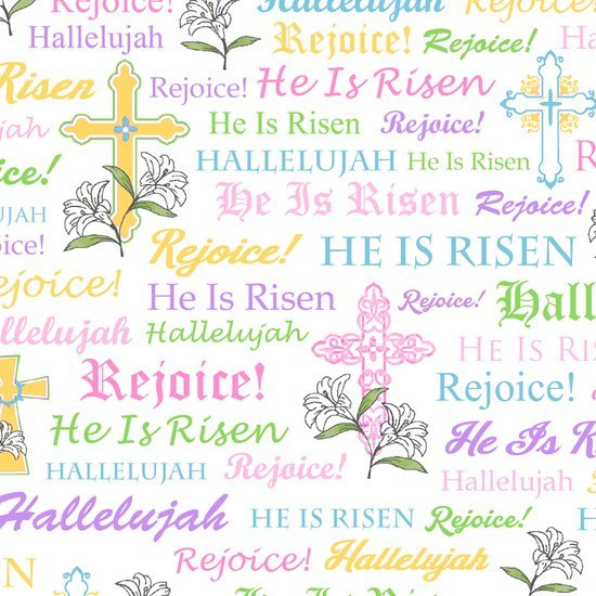 A Joyful Easter by Quilting Treasures (1649-23719-Z)