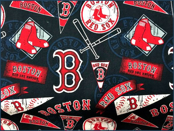 MLB Red Sox by Fabric Traditions (18122-RN-35055)