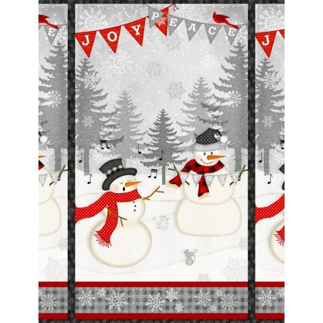 Snowy Wishes Panels by Wilmington Prints (1828-82567-931)