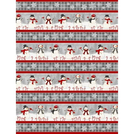 Snowy Wishes Runner by Wilmington Prints (1828-82568-913)