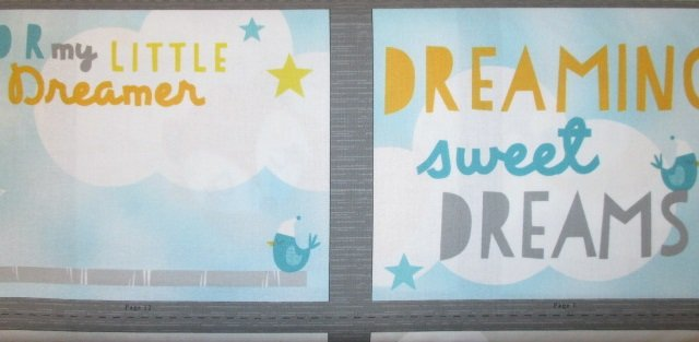 Sweet Dreams Little One by Wilmington Prints (1893-70420-984)