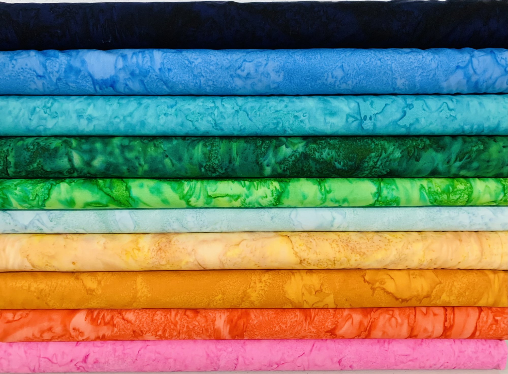 1895 Watercolors by Hoffman Fabrics