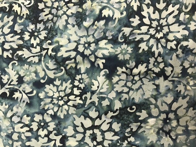 Floragraphix Batik by In the Beginning Fabrics (1-GBD-5-CHARCOCAL)
