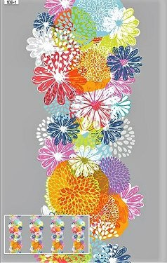 Doodle Blossoms by In the Beginning Fabrics (1DB1)