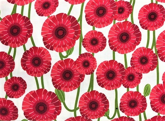 Poppy Love by Northcott (22149-24)