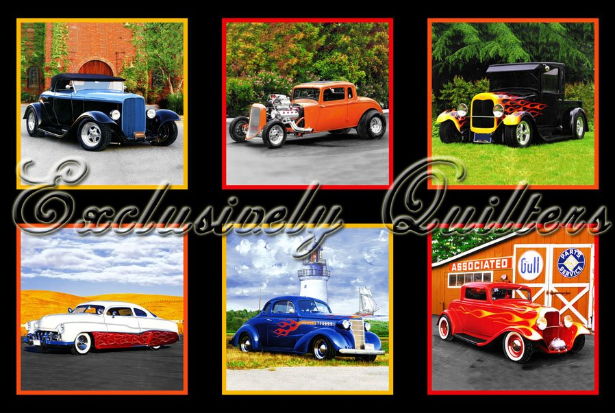 Hot Rods by Exclusively Quilters (3994-60649-8)