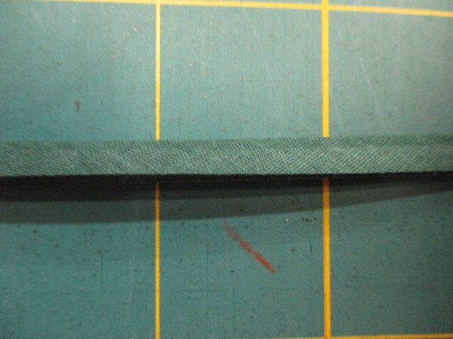 1/4 Double Fold Bias Tape- Hunter