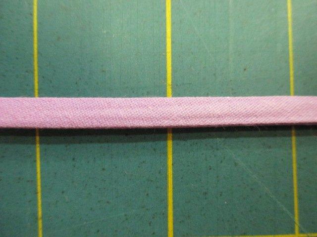 1/4 Double Fold Bias Tape- Pink