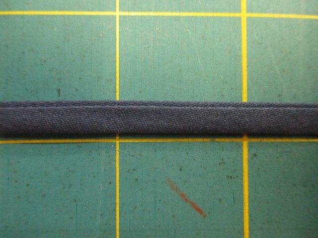 1/4 Double Fold Bias Tape- Navy
