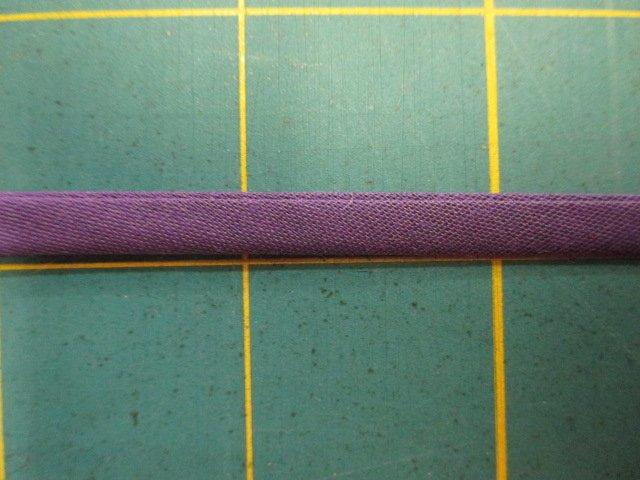 1/4 Double Fold Bias Tape- Purple