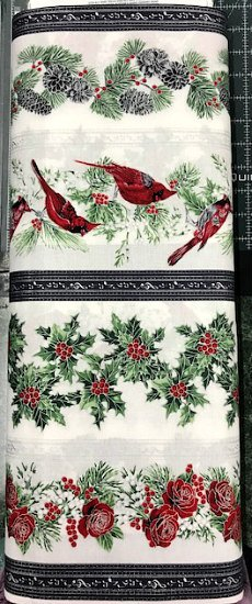 Carnidals Runner by Hoffman Fabrics (521-S-MISTYSILVER)