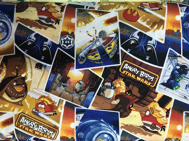 Angry Birds Star Wars Classic Scenes by Camelot Fabrics (73300101-01)