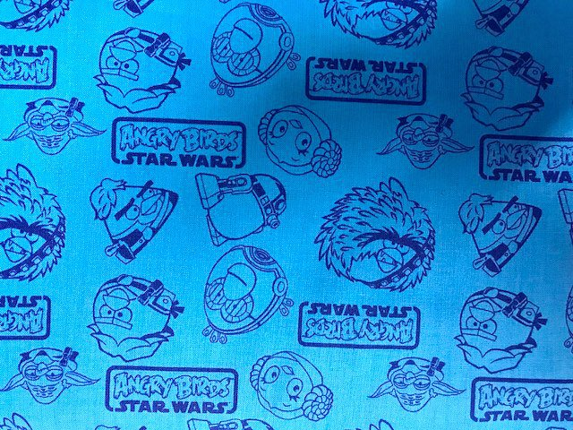 Angry Birds Star Wars Outlines by Camelot Fabrics (73300108-01)