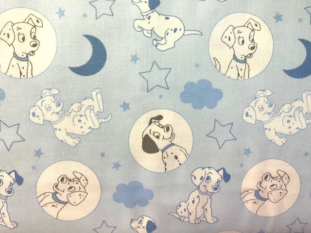 101 Dalmations - Time for Bed by Camelot Fabrics (85010101-03)