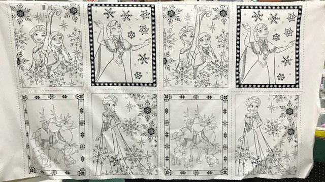 Frozen Book Panel by Camelot Fabrics (85190201-01)