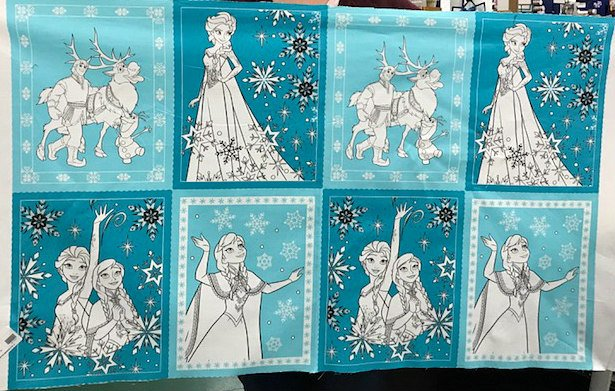 Frozen Book Pages by Camelot Fabrics (85190201-03)