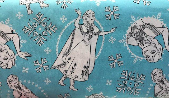 Frozen Anna by Camelot Fabrics (85190203-03)
