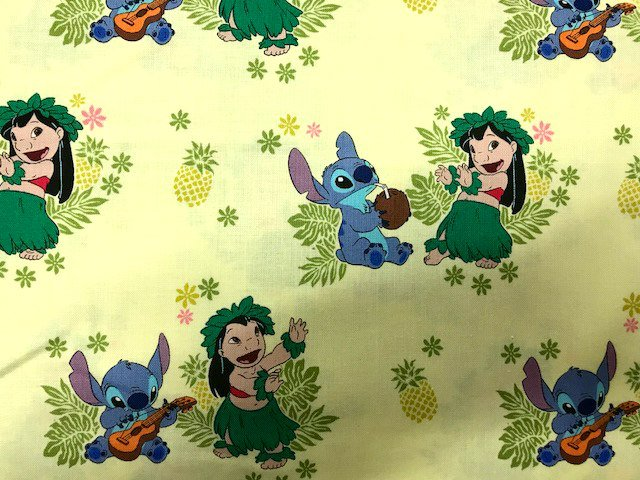 Lilo & Stitch - Ohana by Camelot Fabrics (85240101-01)