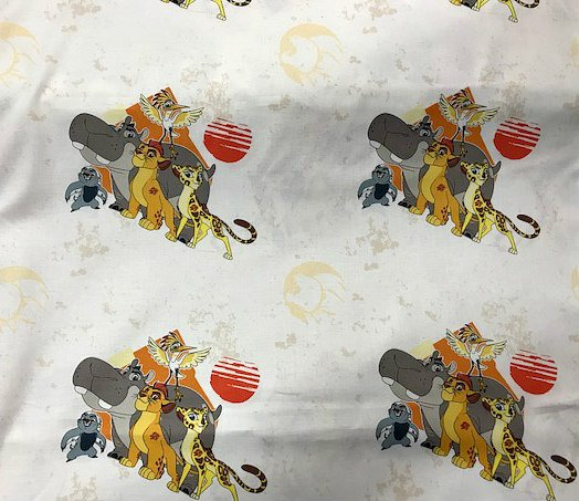 Lion Guard - All for One by Camelot Fabrics (85250101-06)