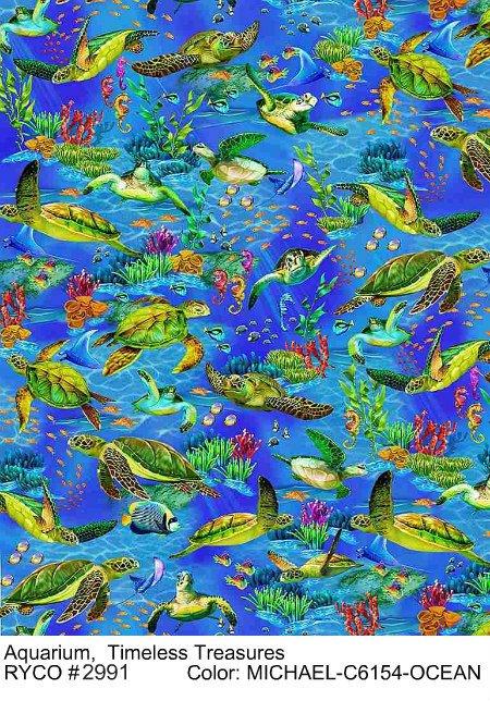 Aquarium by Timeless Treasures