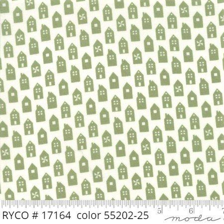 At Home by Moda Fabrics (55202-25)