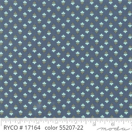 At Home by Moda Fabrics (55207-22)