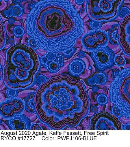 August 2020 by Kaffe Fassett for Free Spirit