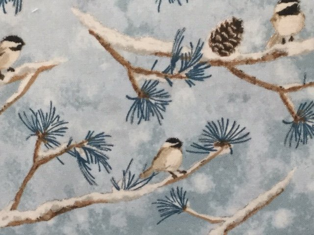 Winter White:Solstice by Robert Kaufman (AWHM-18409-245 MIST)