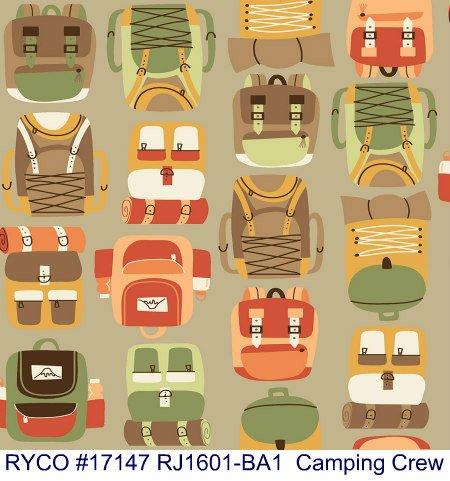 Camping Crew by RJR Fabrics (RJ1601-BA1)