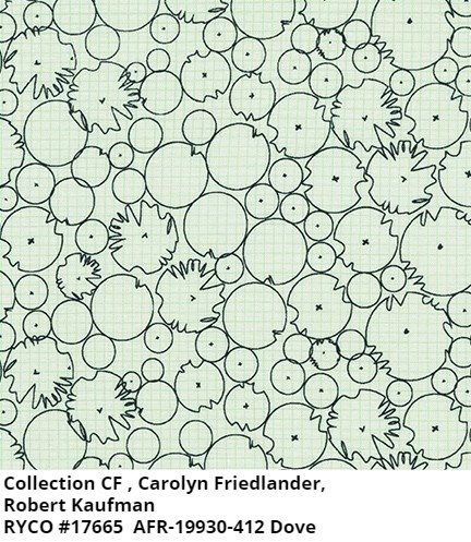 Collection CF by Carolyn Friedlander for Robert Kaufman
