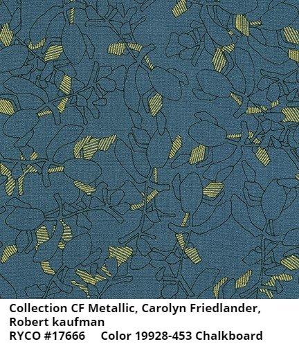 Collection CF- Metallic by Carolyn Friedlander for Robert Kaufman