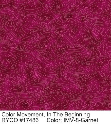 Color Movement by In The Beginning Fabrics
