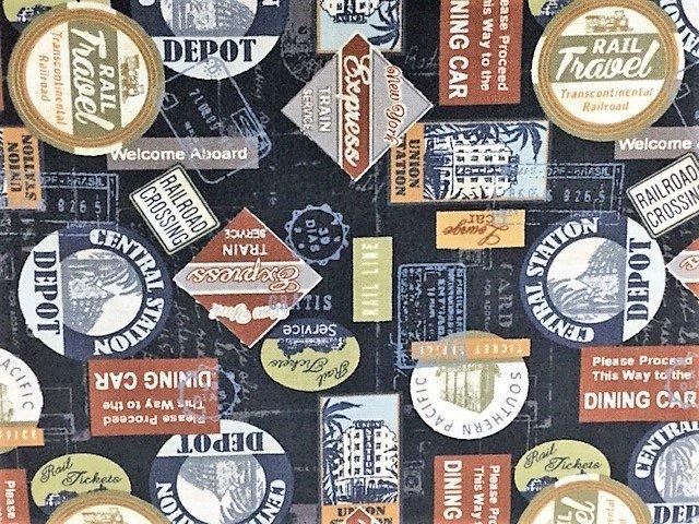 Travel Stickers by Kanvas Studios (COTON-SM36)