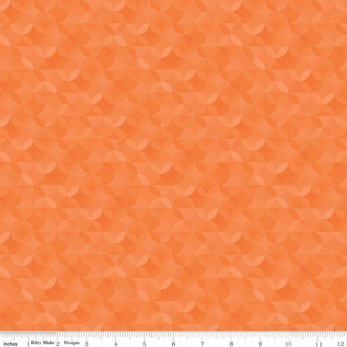 Crayola Kaleidoscope by Riley Blake Fabrics (CR480-OUTRAGEOUS-ORANGE)
