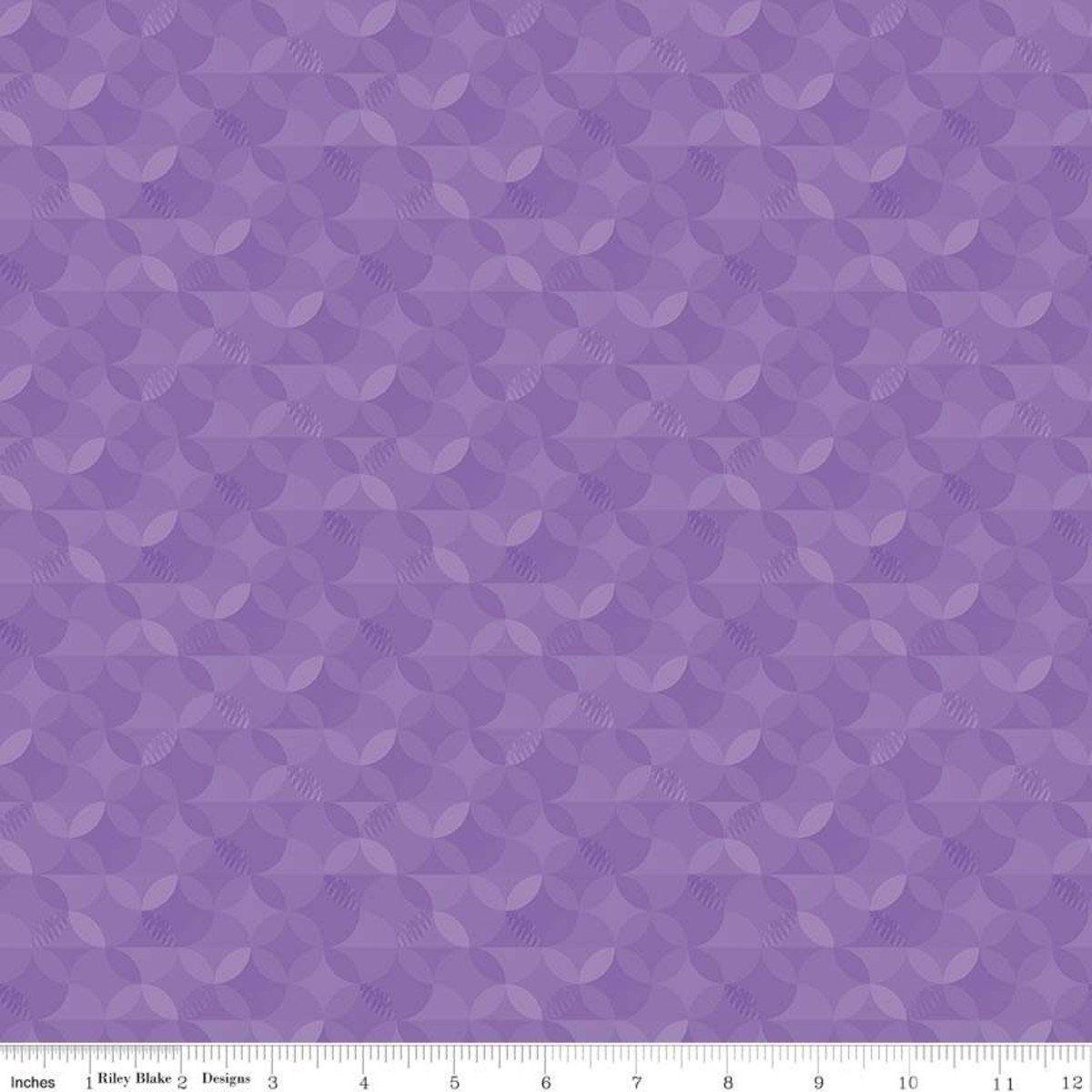 Crayola Kaleidoscope by Riley Blake Fabrics (CR480-VIOLET)