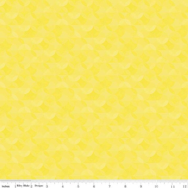 Crayola Kaleidoscope by Riley Blake Fabrics (CR480-LITTLE-LEMON)