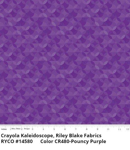 Crayola Kaleidoscope by Riley Blake