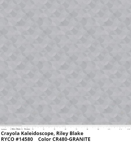 Crayola Kaleidoscope Collection by Riley Blake