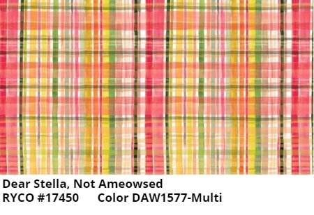 NOT AMEOWSED & FALL PLAID BY DEAR STELLA
