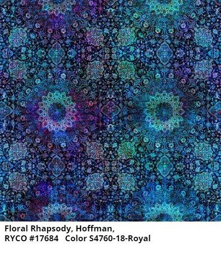 Floral Rhapsody by Hoffman Fabrics
