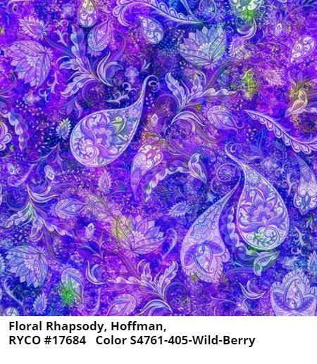 Floral Rhapsody by Hoffman