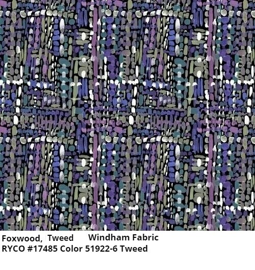 Fox Wood, Tweed by Betsy Olmstead for Windham Fabrics
